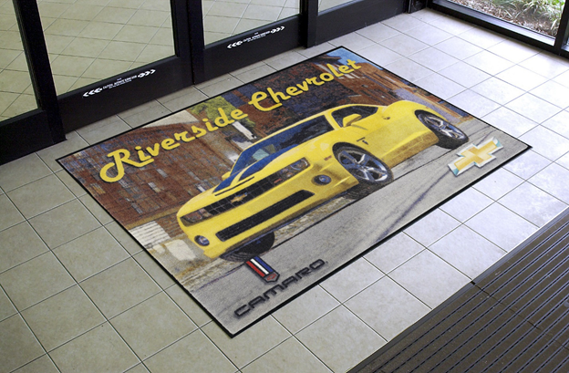 Customized logo mats by City Clean